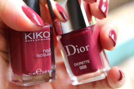 Diorette: IT vernis de l'automne ou simple dupe d'un KIKO?