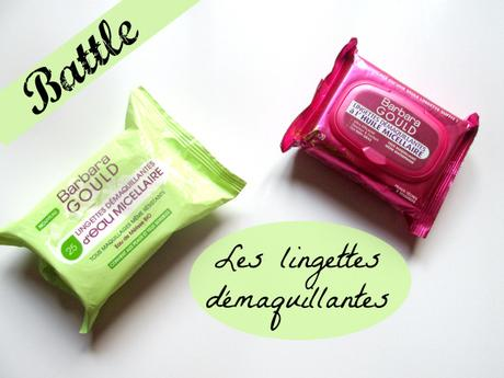 battle lingette demaquillante