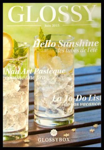 Glossybox de juin : Hello Sunshine