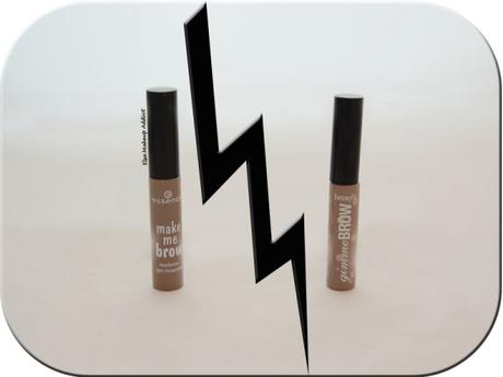 Gimme Brow Benefit vs. Make Me Brow Essence 1