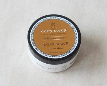 Deep Steep et son gommage sucré à souhait