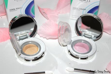 Les Cool Touch Eyeshadow de chez Kiko