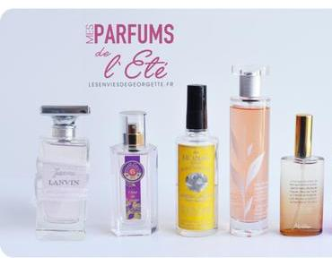 TOP 6 des parfums de l'été 2015