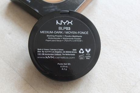 Blotting Powder NYX