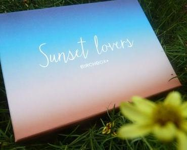 Sunset Lovers - Birchbox juillet 2015