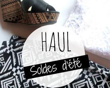 Haul soldes d'été (H&M, André, Texto, Jennyfer…)