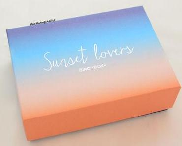 Birchbox Sunset Lovers : la box de la fin