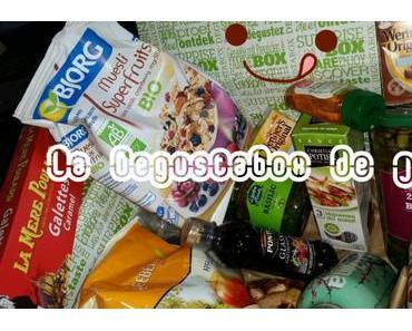 Ma première box à miam : la Degustabox de juin