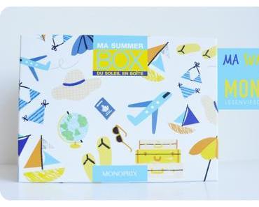 La Summer Box de Monoprix