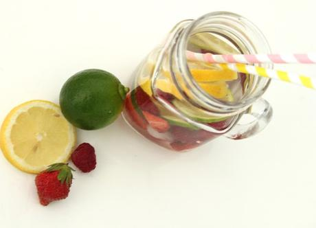 Fruits-infused water