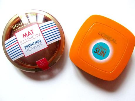 bourjois mat illusion l'oreal sublime sun