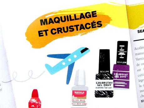 maquillage et crustacés