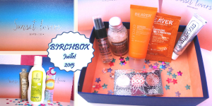 Birchbox Juillet 2015 – Box #3 – Sunset Lovers – une Box spécial SOLEIL ☼
