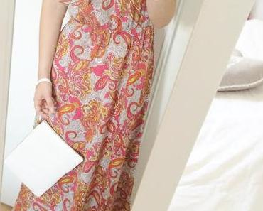 LOOK DU JOUR - Maxi dress & gold