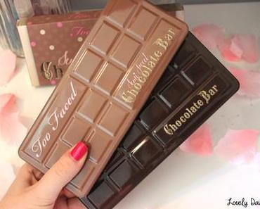 La Semi-Sweet Chocolate Bar de Too Faced (& comparaison des palettes)