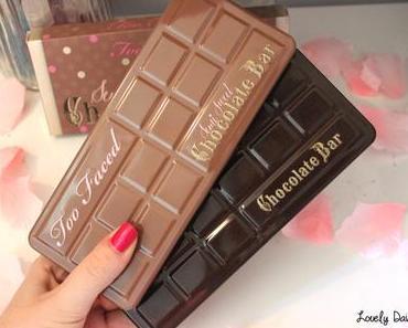 La Semi-Sweet Chocolate Bar de Too Faced (& comparaison des palettes)