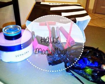 HAUL #4   Maquillage: Sephora, Monoprix et Yves Rocher