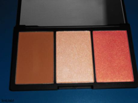 Découverte de la palette Face Form de chez Sleek