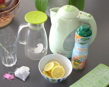 Recette d'été : du thé glacé maison
