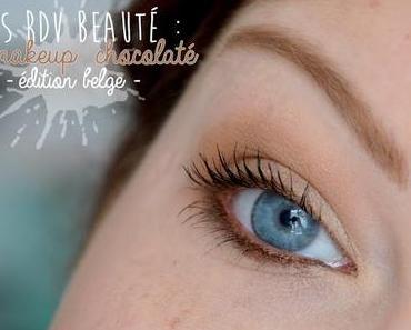 Les RDV Beauté : La Belgique à l'honneur avec un makeup chocolaté