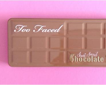 ✰ Nouveau : Palette Semi Sweet Chocolate Bar de Too Faced ✰