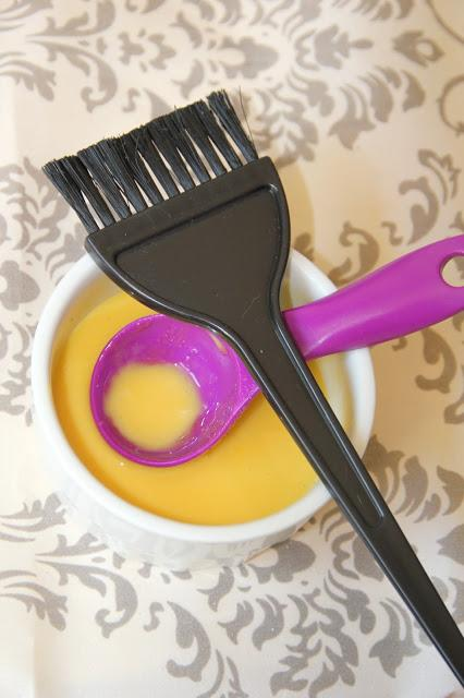 Masque pour cheveux secs