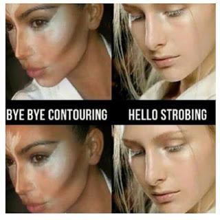 Hello Strobing Bye bye conturing