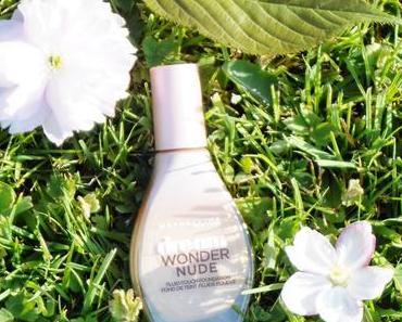 Dream Wonder Nude, le fond de teint de chez Gemey Maybelline
