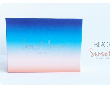 Birchbox Sunset Lovers #juillet2015