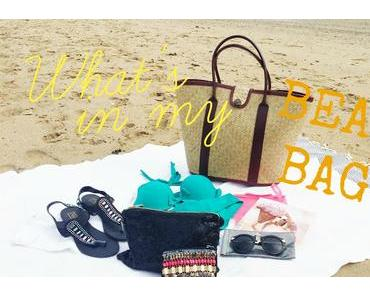 TAG / What's in my BEACH bag ? (édition 2015)