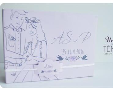 DIY une boite pour mes témoins #mariage