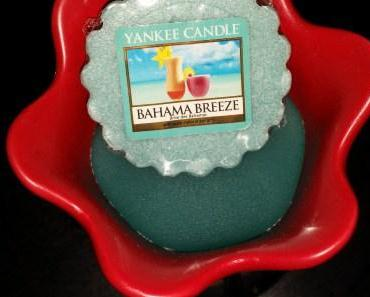 Une ode au voyage, à l'exotisme, au paradis : Bahama Breeze de Yankee Candle