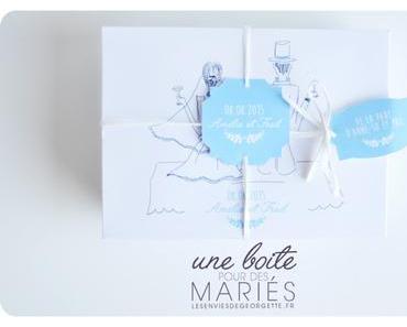Un cadeau original pour des mariés #DIY #Mariage
