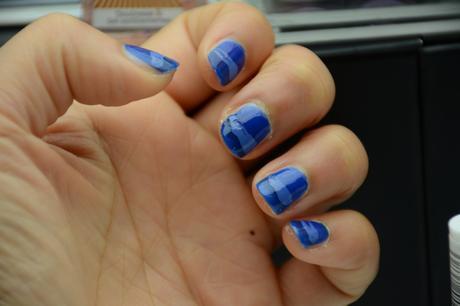 TUTO NAIL ART : I LOVE BLUE !