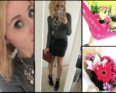 LOOK DU JOUR / My birthday & couleurs automnales