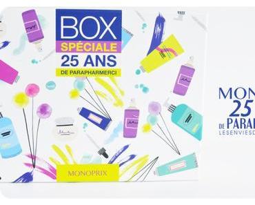 Box Monoprix : 25 ans de parapharmacie !