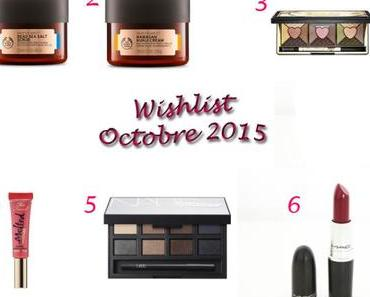 Mes envies pour Octobre {Birthday Wishlist}
