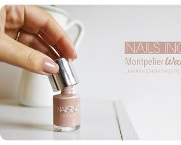 Nails Inc couleur Montpelier Walk : un coup de cœur