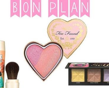Bon Plan Too Faced et Benefit – 40% de réduction