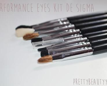 Le « Performance Eyes Kit » de Sigma, ce que j'en pense !