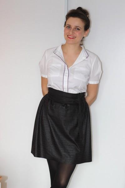 couture d une jupe facile. Black Bedroom Furniture Sets. Home Design Ideas