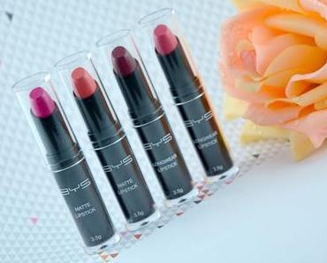 A la découverte des rouges à lèvres BYS Maquillage
