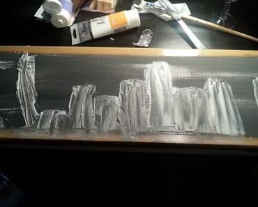 Faire de la peinture avec du ciment