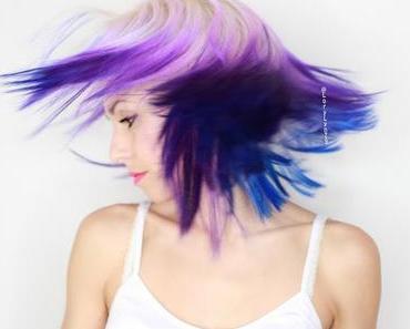 J'ai tenté les Galaxy Hair , également la nouvelle tendance pour l'hiver 2016 !