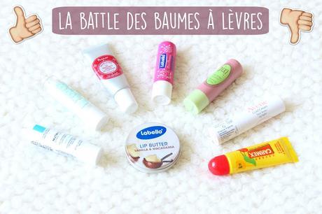 La battle des baumes à lèvres !