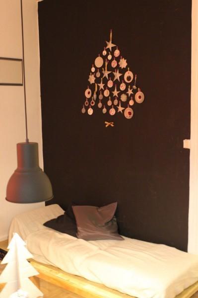 diy sapin de noel en carton et r cup. Black Bedroom Furniture Sets. Home Design Ideas