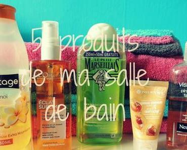 5 produits de ma salle de bain