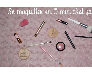 ♥ Maquillage automnal en moins de 5 minutes ♥
