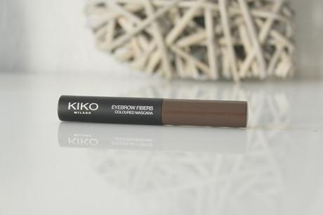 Eyebrow fibers coloured mascara de Kiko