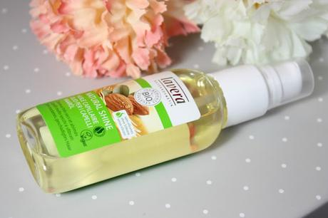 Natural Shine, mon huile capillaire by Lavera.